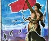 Original Apophenia Tarot Card The Knight of Swords