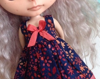 Dress for Blythe - Beautiful Batiks #18