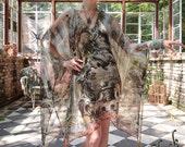 Opium Dreams Gothic French Revolution Festival Caftan Tassel Dress by Louise Black