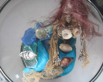 FeeJee MeRmAiD OOAK DaRk DeCoR SkelEtOn sheLLs seA GlaSS FrEaKy FisH BoNeS HoaX