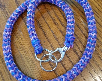Stretchy Lanyard Keyring Bracelet Necklace