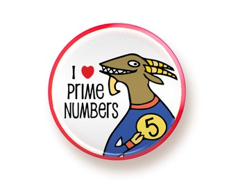 I heart Prime Numbers - button