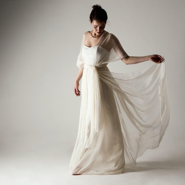 Wedding Dress Boho Wedding Dress Infinity Wedding Dress