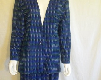 Suit Jacket & matching skirt set  80s 90s    size 10, PROPHECY Brand