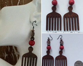 Afrocentric Earrings,Jewelry,Gifts