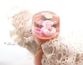 Eat Dessert First Ring Handmade Resin Novelty Cake Sweets Ring Lorelie Kay Original