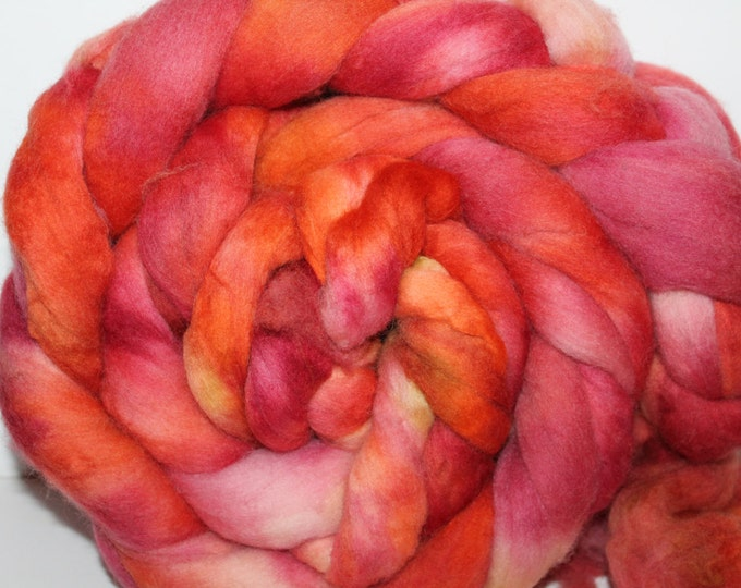 Kette Dyed Polwarth wool top. Roving. Spin. Felt. Super Soft. 1lb. FREE SHIP #P10