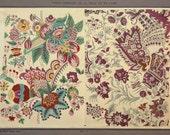 Toiles Imprimees De La Perse & De l'Inde d'Apres Les Documents Recueillis Par Oberkampf  Circa 1890s  Plate #3   Printed in Paris