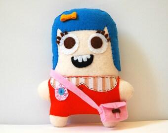 Chloe The Eco Friendly Plush Doll / Stuffed Toy