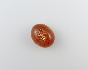 Sunstone - Oval Cabochon, 9.65 cts - 12x15 (S187)