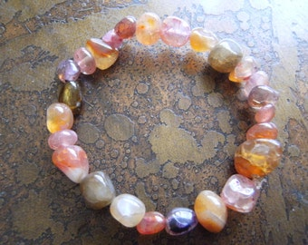 Mix It Up Agate Beaded Stretch bracelet