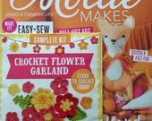 Mollie Makes Magazine - Woodland Magic - Issue 70 - With Crochet Flower Garland - 11.00 Dollars