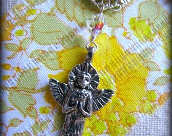 Angel Pendulum - Spiritual Metaphysical Energy work Healing Touch - Gift  Birthday Graduation Wife Daughter Cousin Best Friend Sister Yoga