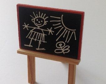 Vintage Dollhouse Furniture Lundby Easel