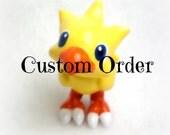 Custom Chocobo Necklace