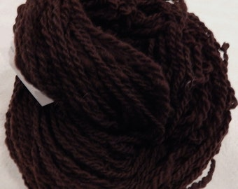 Rustic Cocoa Handspun Heavy Worsted Weight