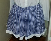 Plus Sized Dorothy Skirt - CLEARANCE