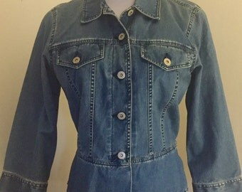 Vintage Denim Jean Jacket, Liz Claiborne