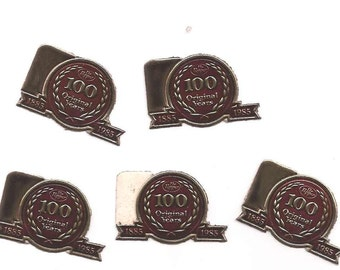 1985 100 year Anniversary Dr. Pepper Stationary Seal Bundle of Twenty in Purchase Centenniel seal