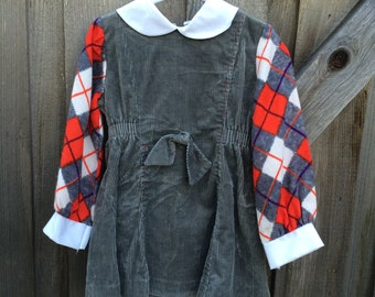 70s Girls Dress 3/4T