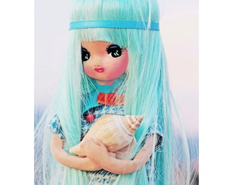 pose doll print 5 x 7 I Shell Be So Blue Without You