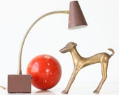 Vintage Modern Dog Sculpture, Greyhound