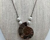 Madagascar Ammonite Necklace