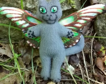 Cat Doll PlushTotally Flealess Too Cute For Your Cuteness Collection Made By Tessimal
