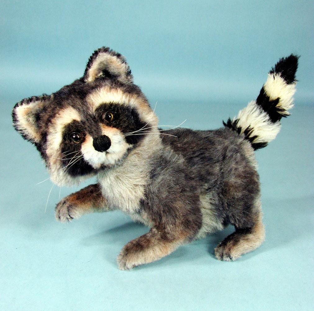 On Sale Raccoon Sewing Pattern Plush Raccoon By Marygardenart