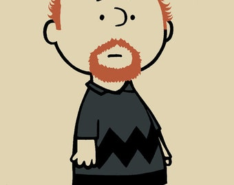 Limited Edition Charlie CK - Louie CK art print poster by bMethe 2015
