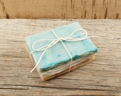 Stack of Soaps | Vegan Soap, Cold Processed Soap, Unique Soap, Gift Soap, Bath and Body Soap, Gift Idea For Friends | End Pieces of Soap