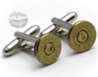 Cufflinks - Federal 45s Bullets