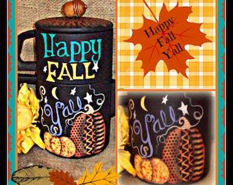 Apple Tree Cottage Original Design E Pattern - Happy Fall Y'all