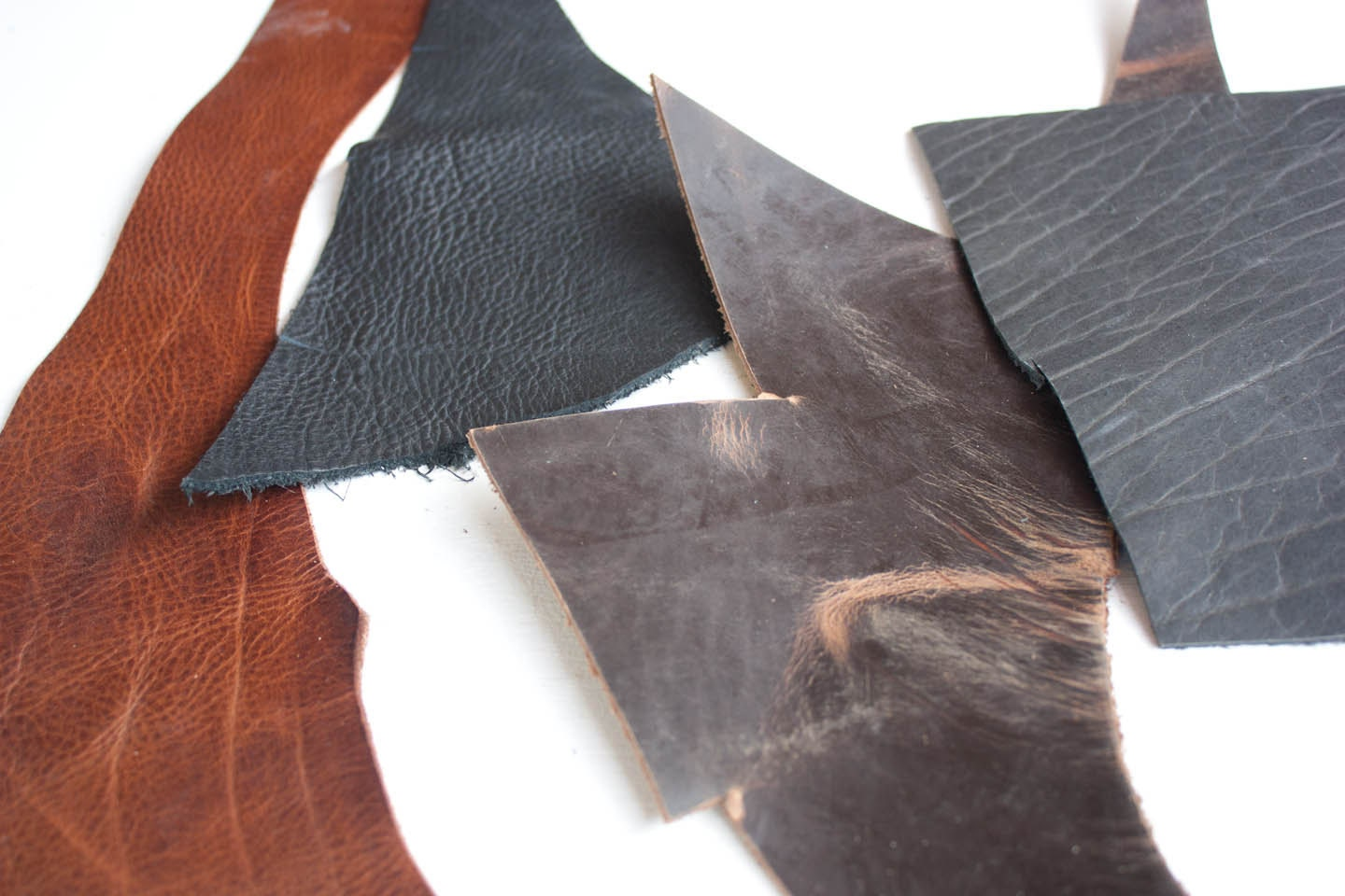 Leather scraps for crafts -  10 00