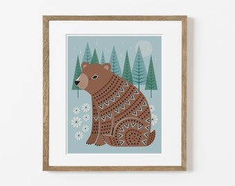 forest friend print