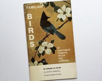 Familiar Birds of Northwest Vintage Book