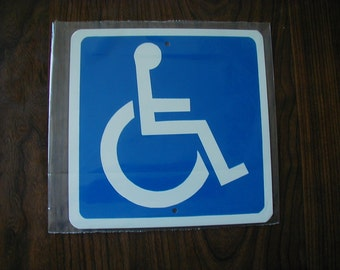 MINI Handicap Sign