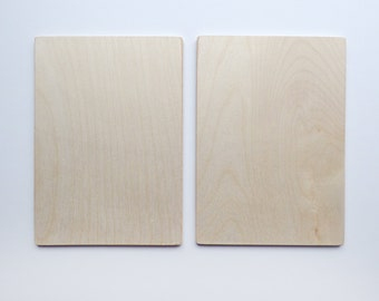 Coptic Bookbinding Wooden Covers 4x6""