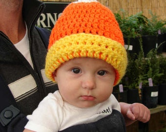 Halloween Hat-Candy Corn Hat-Pumpkin Patch Hat-Boutique Hat-Ready to ship-