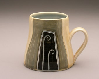 Fiddleheads and Sprouts- Ceramic Mug- Ruchika Madan