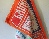 Vintage Drawstring Laundry Bag