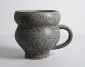 RESERVED Gray Patina Mug