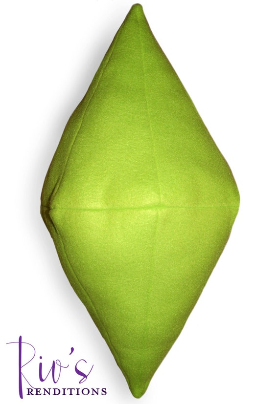 Sims PlumbBob Plush Pillow / Fleece Plush Toy / Fleece Stuffed Toy / Video Game Characters
