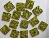 nature inspired handmade tiles