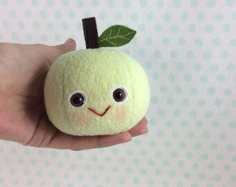 Smiley Golden Delicious Apple Plush