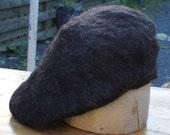 Handfelted Outlander beret