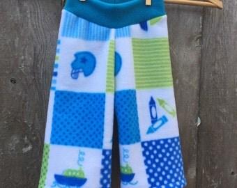 Size Medium --- Sports Anti Pill Fleece Baby Pants (((ready to ship)))