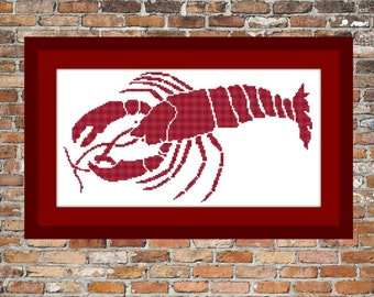 Lobster - a Counted Cross Stitch Pattern