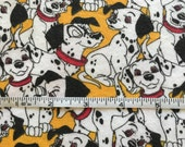 Vintage 101 Dalmatians Cotton Knit Stretch Fabric