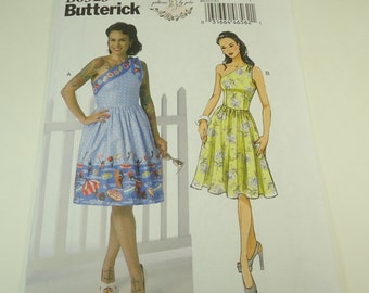 Butterick Misses Dress Pattern B6323 Size 6 8 10 12 14